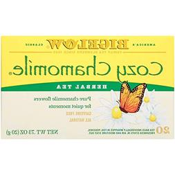 Bigelow Cozy Chamomile Herbal Tea, 20-Count Boxes , New