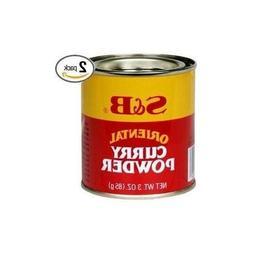 S&B Curry Powder Oriental 3 oz   New