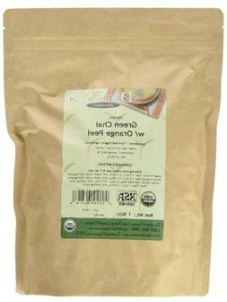 Davidson`s Tea Bulk, Green Chai with Orange Peel, 16-Ounce B