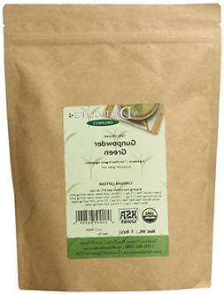 Davidson's Tea Bulk Gunpowder Pellet Green 1lb Bag Organic S