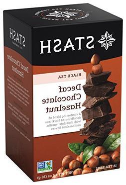 Stash Premium Decaf Chocolate Hazelnut Tea, Tea Bags, 18-Cou