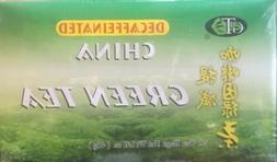 GT Decaffeinated CHINA GREEN TEA, 20 TEA BAGS Box Net 1.41oz