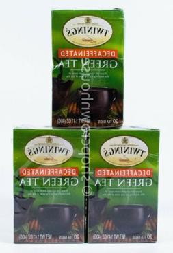 Twinings of London Green Tea Decaffeinated