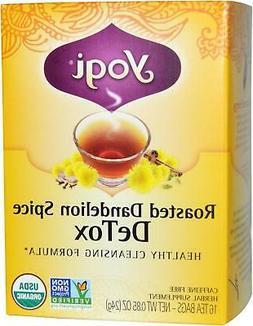 YOGI TEAS TEA DETOX RSTD DANDLN SPC, 16 BG