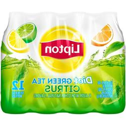 2 Pack) Lipton Diet Iced Tea, Green Tea, 16.9 Fl Oz, 12 Coun