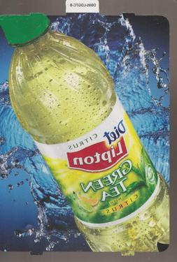 Diet Lipton GREEN TEA with CITRUS Bottle Vending Machine Sig
