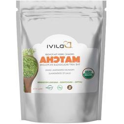 Dodjivi Organic Matcha Green Tea Powder, Premium Ceremonial