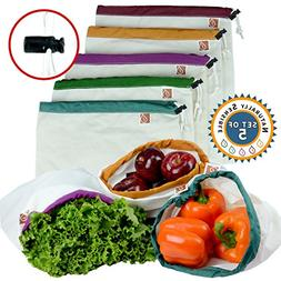 Zero Waste Reusable Produce Bags | Cute Premium Eco Friendly