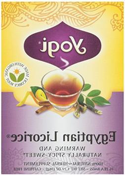 Yogi Tea Egyptian Licorice - Caffeine Free - 16 Tea Bags -Pa
