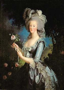 Elisabeth Louise Vigee Le Brun: Marie Antoinette with a Rose