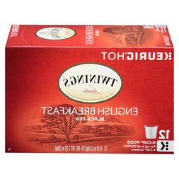 Twinings English Breakfast Tea K Cup Pods 72 pack