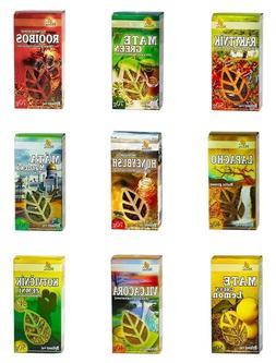 Exotic Tea - Yerba Mate Green Lemon Lapacho Rooibos Honeybus