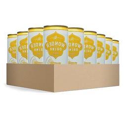 Wonder Drink Kombucha, Organic Green Tea with Lemon Sparklin