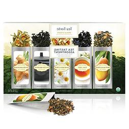 Tea Forté SINGLE STEEPS Classic Sampler Loose Leaf Tea Samp