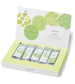 Tea Forté SINGLE STEEPS Organic Matcha Powder Green Tea Sam