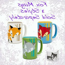 Fox Coffee / Tea Mugs Wild Eye Designs Coffee Mugs