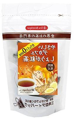 Tea Boutique friendly decaffeinated ginger tea 1.2gX10TBX6 b