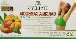Hyley's 100% Natural Garcinia Cambodgia Green Tea 25 foil en