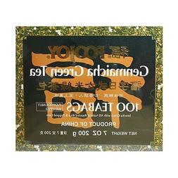 Foojoy Genmaicha Green Tea, 7 Oz, 100 Teabags
