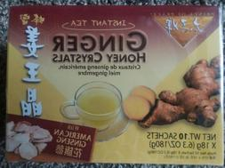 Prince of Peace Ginger Honey Crystals Instant Tea with Ameri
