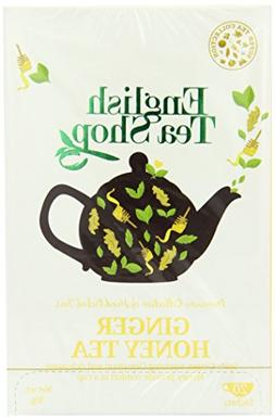 English Tea Shop Ginger Honey Super Tea 20 Sachet Tea Bags
