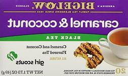 Bigelow Girl Scout Caramel & Coconut Cookie Flavor Black Tea