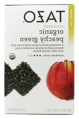 Tazo Tea Green Tea - Organic Peachy Green 20 Bag