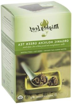 Mighty Leaf Green Tea, Organic Hojicha, 15 Pouches