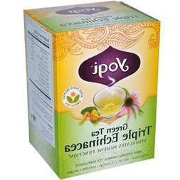Green Tea with Triple Echinacea & Kombucha-16 Brand: Yogi Or