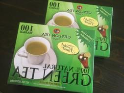 Green Tea - 100% Natural, 100 bags,