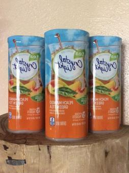 Crystal Light Tea Drink Mix Peach-Mango Green Tea - 5 PKS, 1