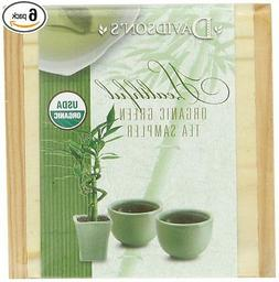 Davidson's Tea Green Sampler Tea Chest, 2.04 Ounce Boxes