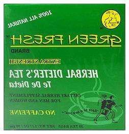 WINNERAM Green Fresh 100% Natural Herbal Dieter's Tea Extra