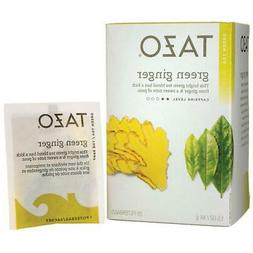 Tazo Tea Green Tea, Green Ginger 20 ea