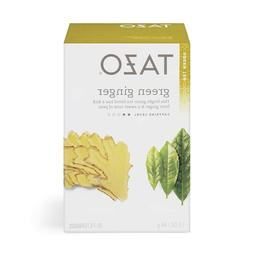 Tazo Green Ginger Tea Filterbags, 20 count,