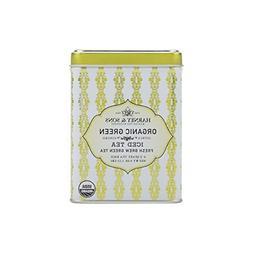 Harney & Sons Green Iced Tea, Organic Citrus Ginko, 6 Tea Ba