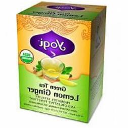 Yogi Green Lemon Ginger Tea