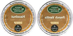 Green Mountain FRENCH VANILLA DECAF & HAZELNUT DECAF Flavore