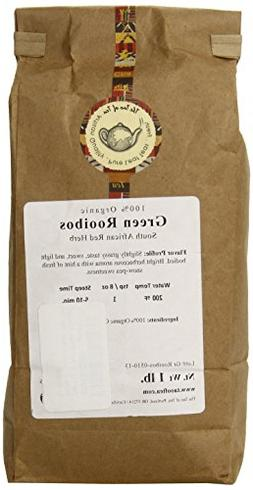 The Tao of Tea Green Rooibos, 100% Organic African Red Herb,