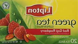 Lipton Green Tea, Superfruit, Red Goji and Raspberry20 bag