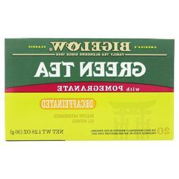 Bigelow Green Tea With Pomegranate Decaf, 1 Box - 20 Tea Bag