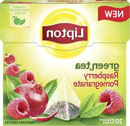 Lipton Green Tea - Raspberry Pomegranate - Premium Pyramid T