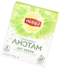 Lipton Green Tea Bags, Pure Matcha, 15 ct, Pack of 4 Origina
