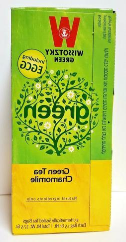 Wissotzky Green Tea Chamomile Tea KP - 20 bags