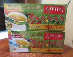 Impra Green Tea Collection Sampler Box 30 tea bags lot of 2