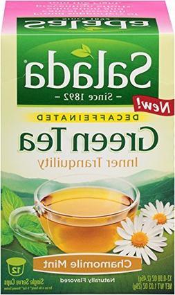 Salada Green Tea Decaf Inner Tranquility Chamomile Mint Keur