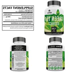 Green Tea Extract 120 Day Supply – 500Mg Vegan Capsules W