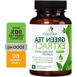 Green Tea Fat Burner 1000mg EGCG Extract Natural Weight Loss