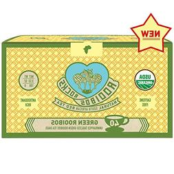Green Rooibos Tea Organic Teabags - 40 South African Green R