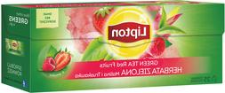 Lipton Green Tea Red Fruits Strawberry & Raspberry Flavor 25